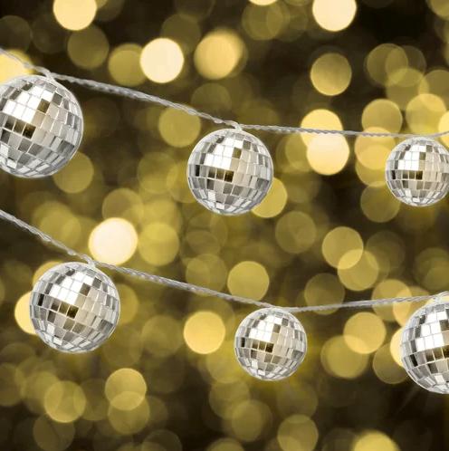 House of Hampton Seamus Disco Ball Novelty String Lights
