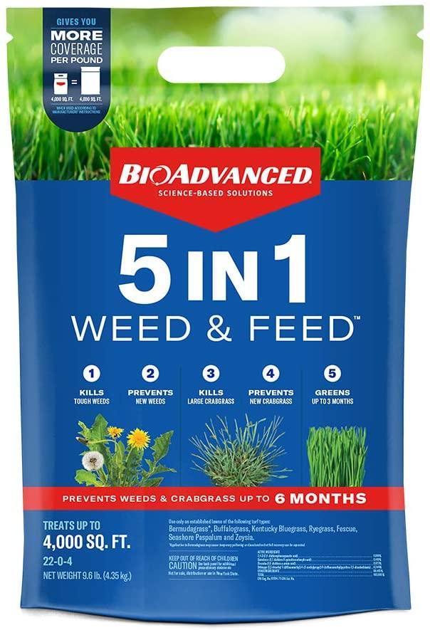 BioAdvanced Weed and Feed Lawn Fertilizer