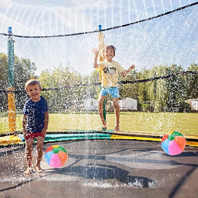 HANGRUI Trampoline Sprinkler and Water Play Accessories