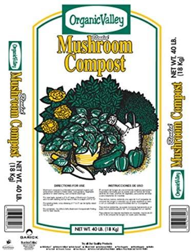 Garick Organic Valley Mushroom Compost