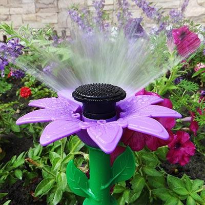 Melnor Adjustable Daisy Sprinklers and Garden Hose Kit